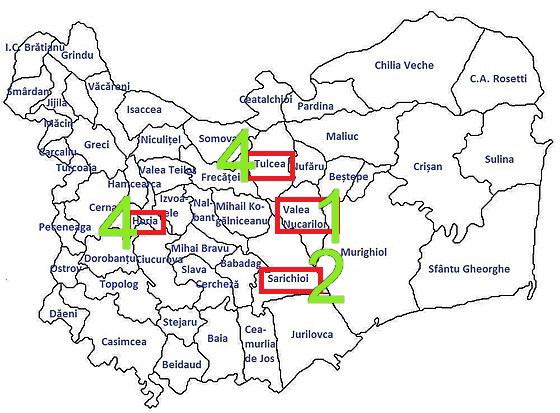 Harta coronavirus în judeţul Tulcea. Scenariul este unul foarte optimist