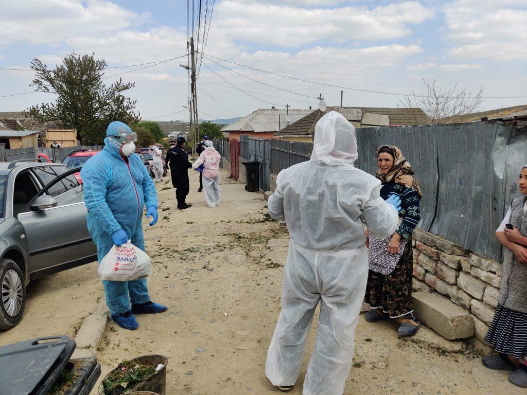 23 de infectaţi cu SARS Cov2 la Babadag. Toți provin din zona carantinată