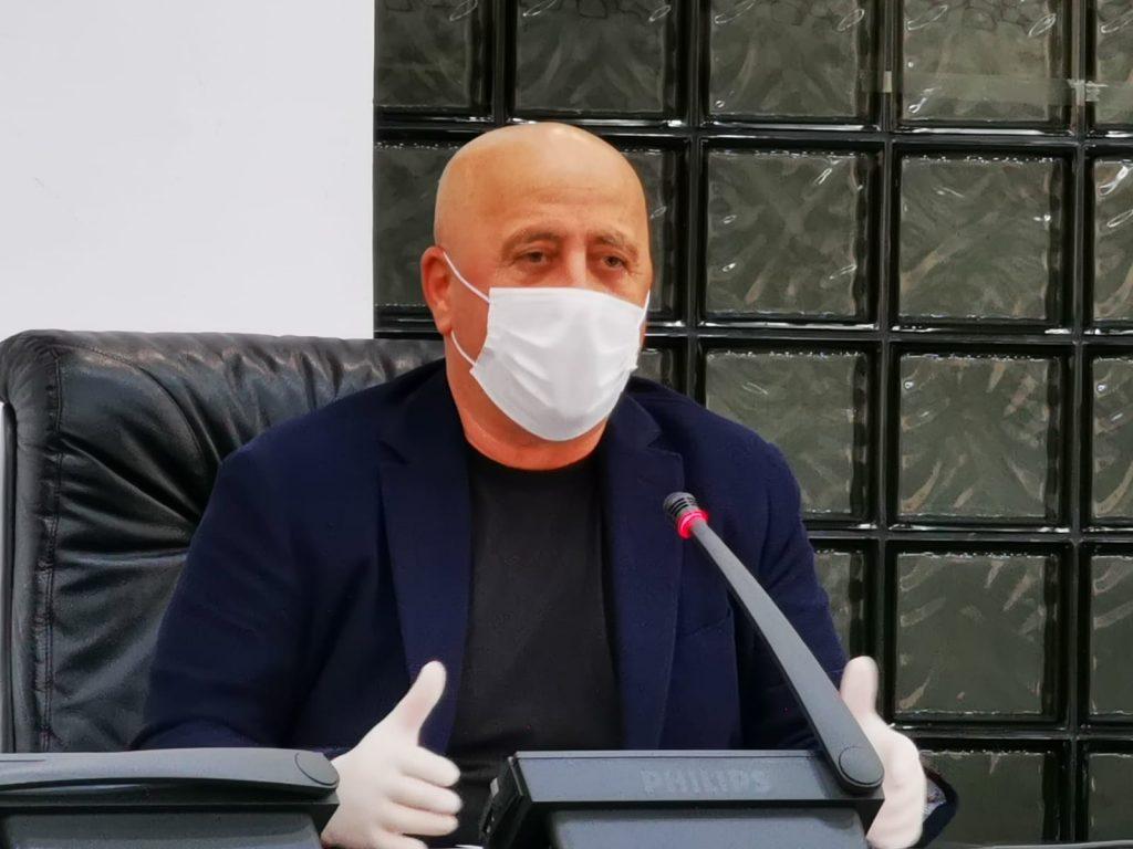 Președintele Horia Teodorescu: Este foarte important să păstrăm Spitalul Județean neinfectat