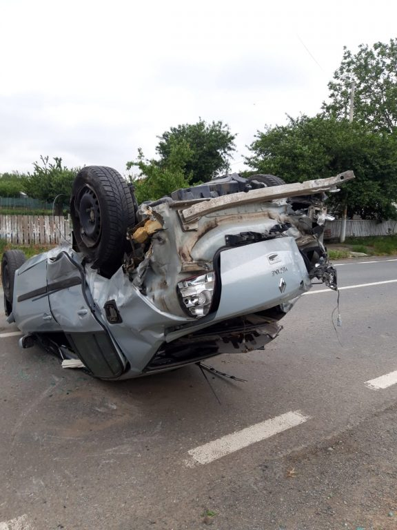 Accident la Somova. Un tânăr a ajuns la spital
