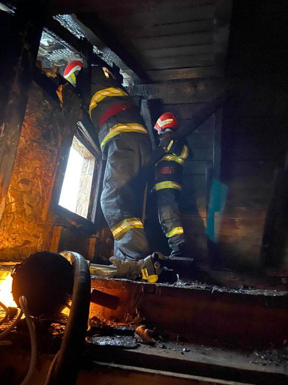 Incendiu la o vilă din municipiu