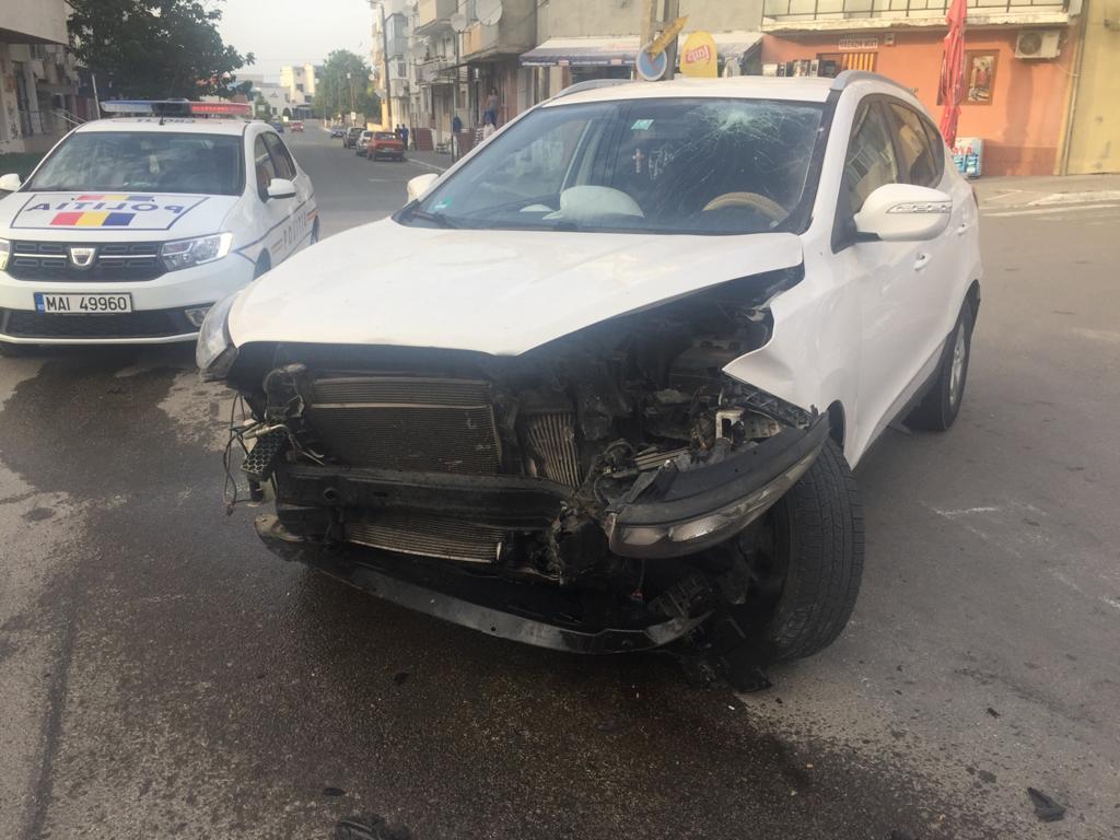 O minoră a ajuns la spital în urma unui accident rutier