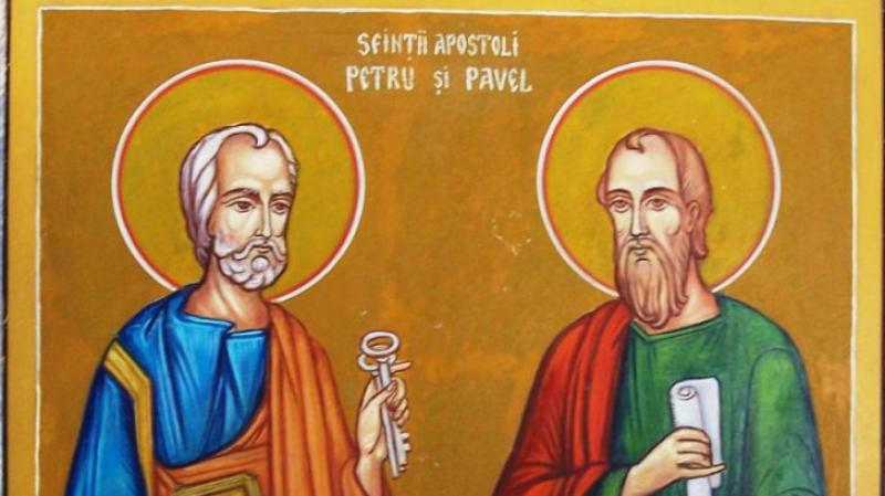 Sfinţii Apostoli Petru şi Pavel