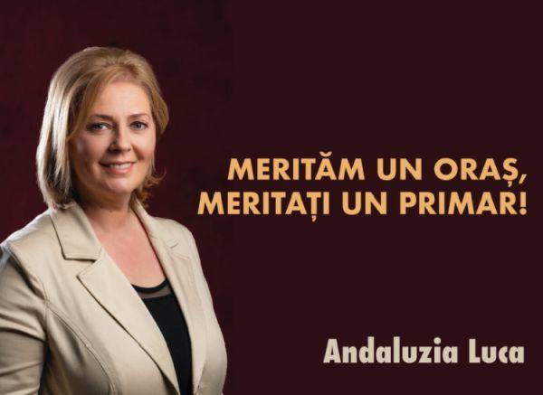 Contrar intoxicării disperate a opozanţilor Andaluzia Luca ESTE candidata PSD pentru funcţia de primar