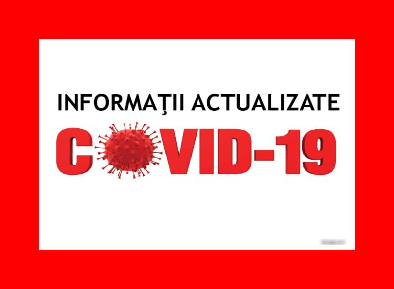 Statistici Covid-19 la zi