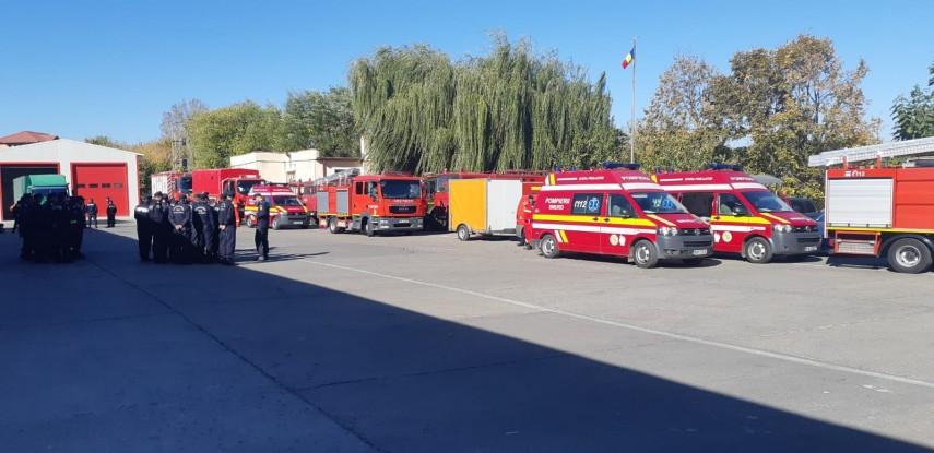 Explozia unui tub de oxigen i-a smuls piciorul unui angajat ISU Tulcea. Omul a fost dus cu elicopterul la spitalul Floreasca şi a fost salvat de medici