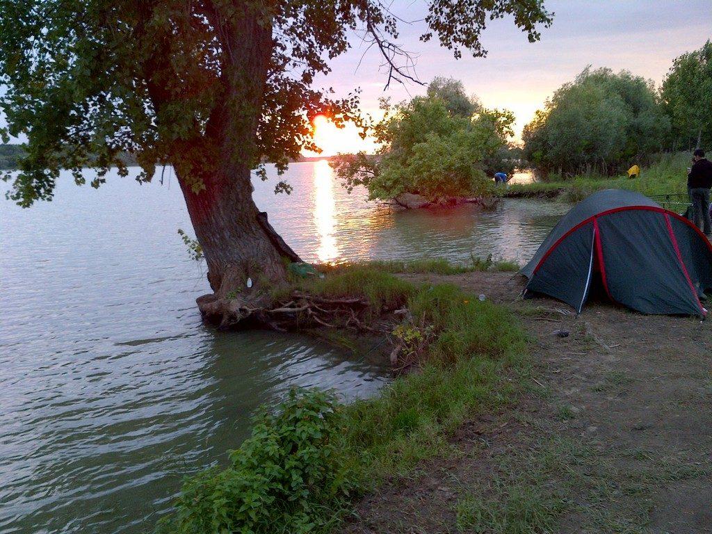 Nu e voie cu cortul în Delta Dunării!