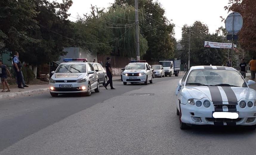 Minoră de 13 ani accidentată la Babadag