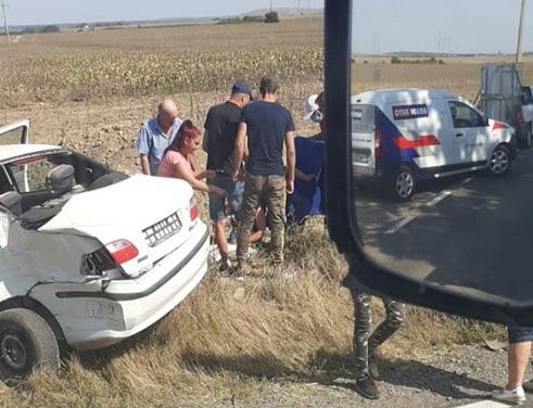 ACUM - Accident lângă Niculiţel. O femeie e rănită destul de serios