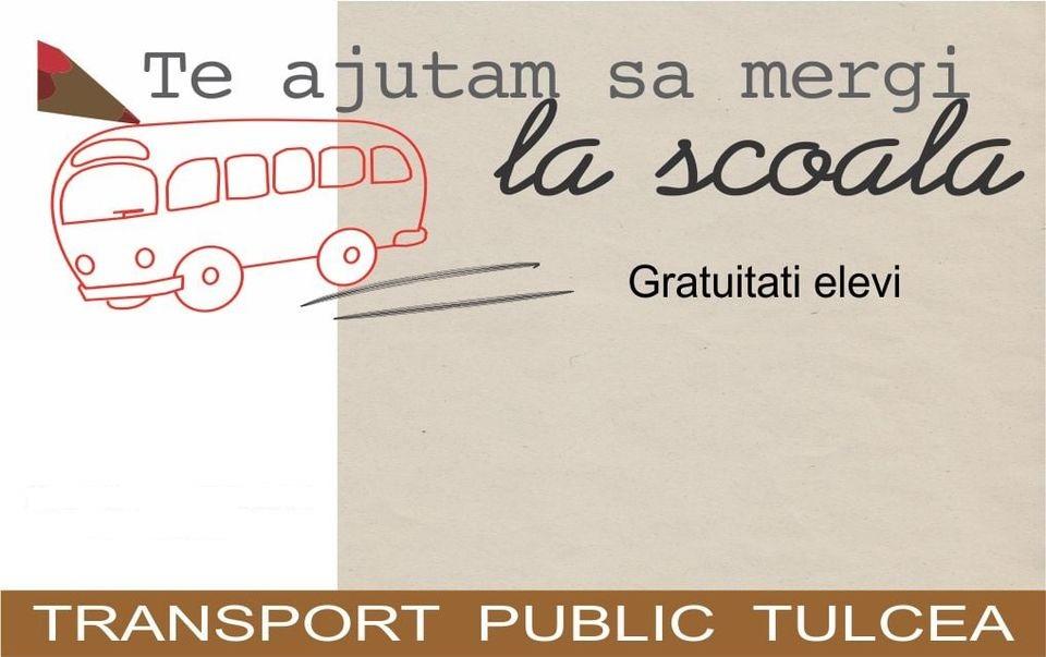 Transport GRATUIT pentru elevi!