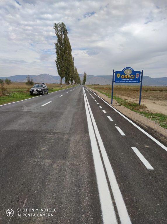 Comuna Greci are pistă de biciclete