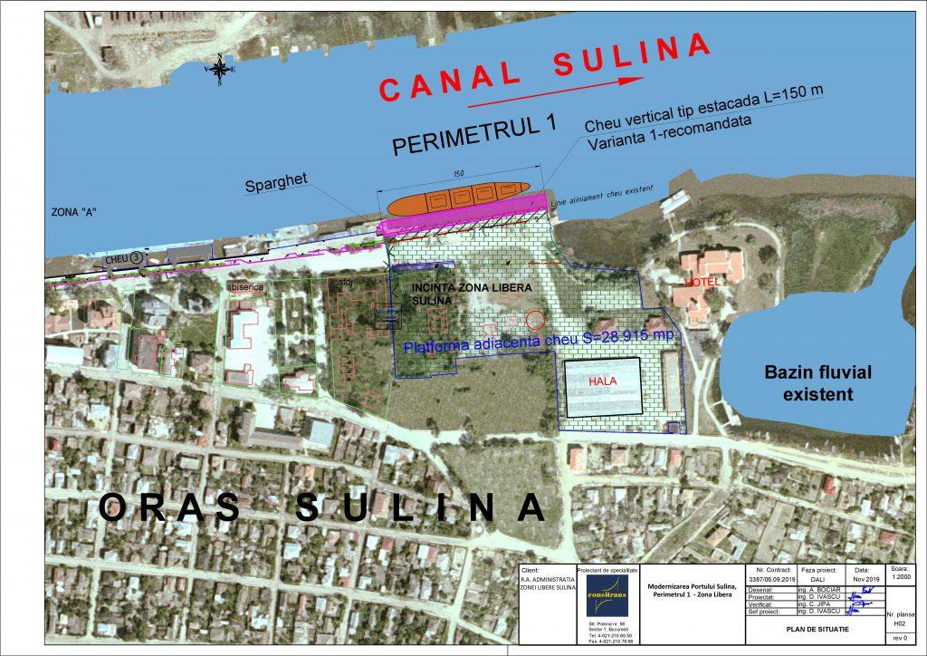 17 milioane de euro pentru modernizarea portului Sulina