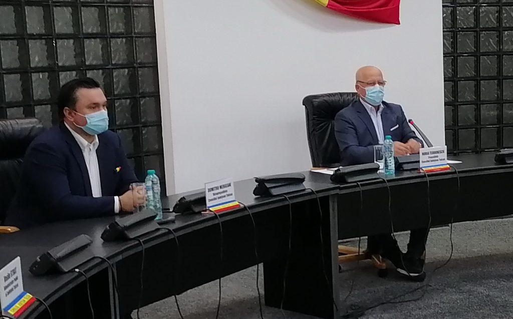 Dumitru Mergeani este unul dintre vicepreşedinţii CJ. Al doilea va fi de la Pro România