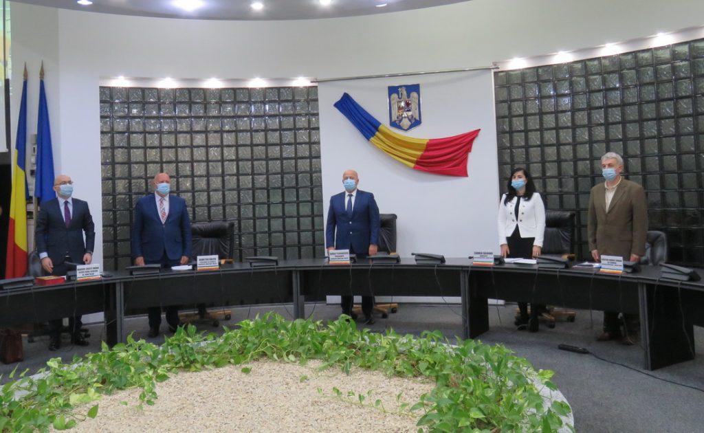 A fost constituit Consiliul Județean 2020-2024