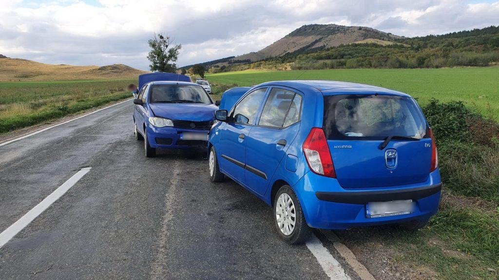 Accident între Cerna şi Măcin. O femeie a ajuns la spital