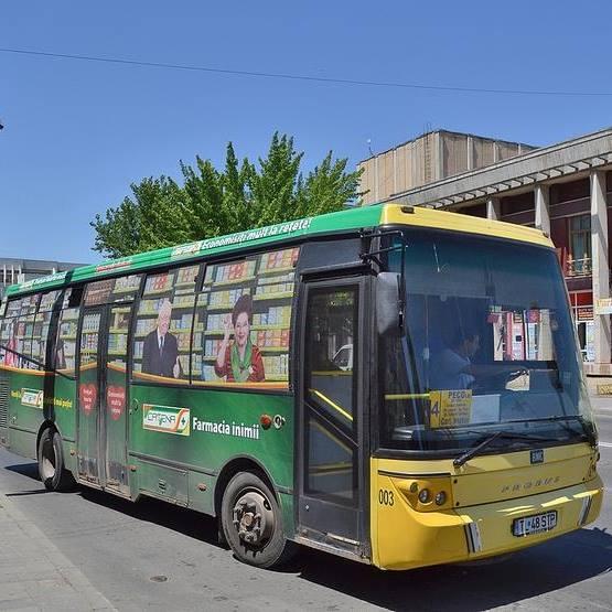 Se suplimentează cu autobuze traseele 1, 1B şi 4