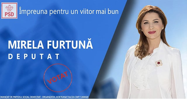 Deputat Mirela Furtună: