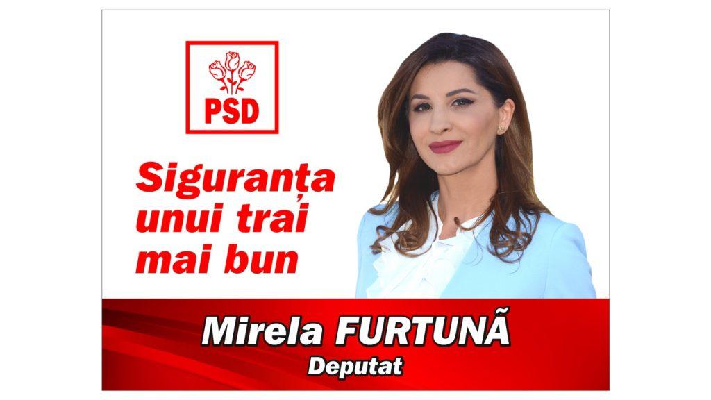 Deputatul PSD Mirela Furtună: