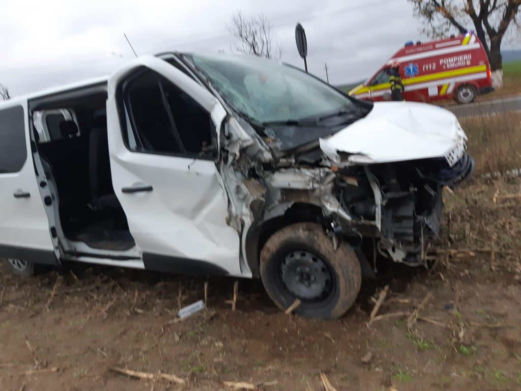 Accident aproape de Nalbant
