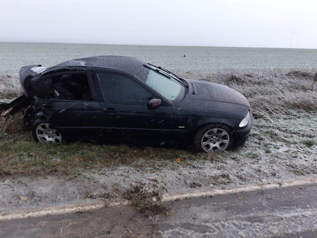 Al n-șpelea accident cu victimă pe drumul Tulcea - Agighiol. O tânără de 21 de ani a ajuns la spital