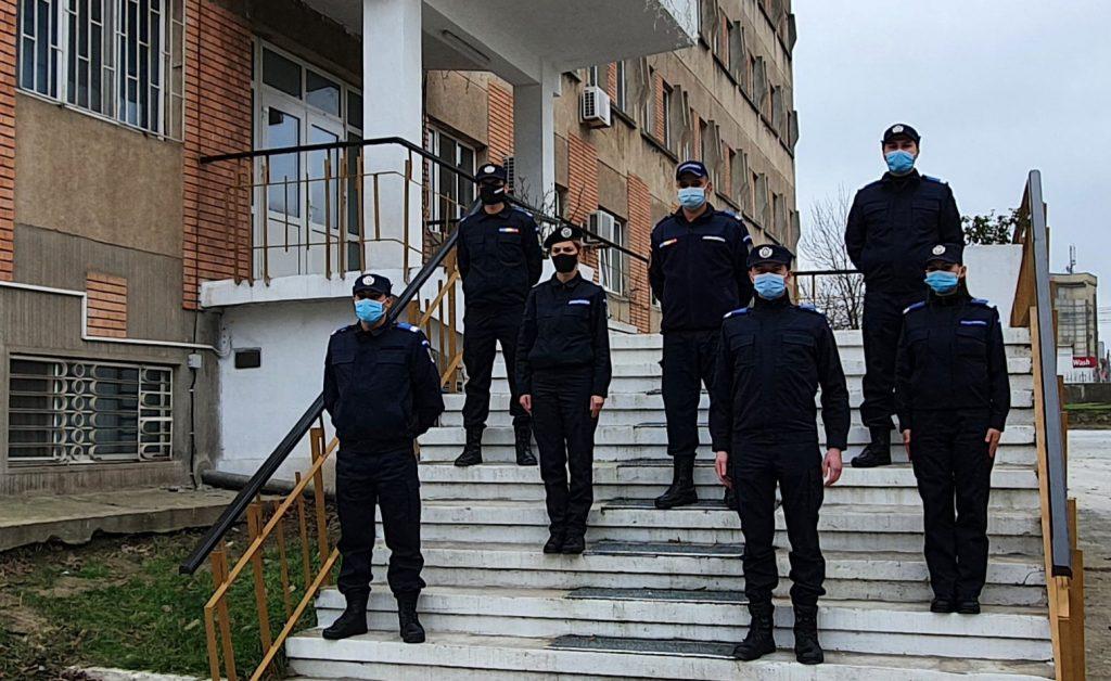 Depunerea jurământului militar la sediul Jandarmeriei Tulcea