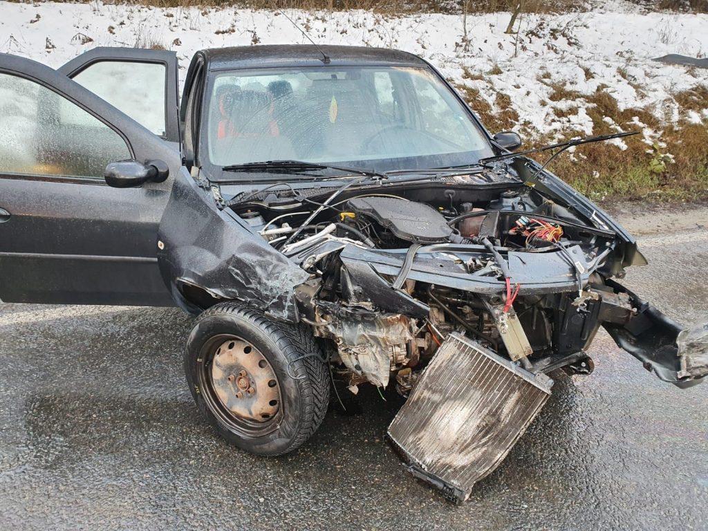 Bărbat inconştient în urma unui accident lângă Babadag