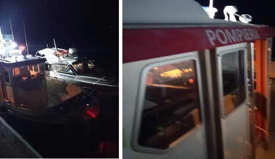 Pompierii au intervenit în cazul unui bărbat apoape în hipotermie. Acesta căzuse într-un canal acoperit de gheață