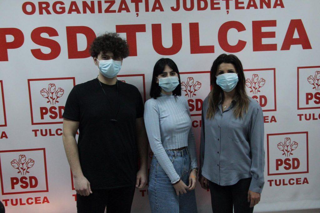Doamna deputat Mirela Furtună s-a întâlnit cu reprezentanții elevilor tulceni