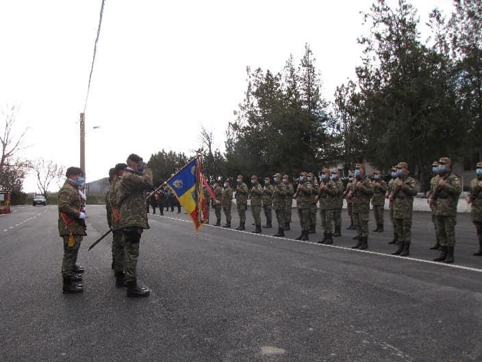 Infanteriști marini la jurământ