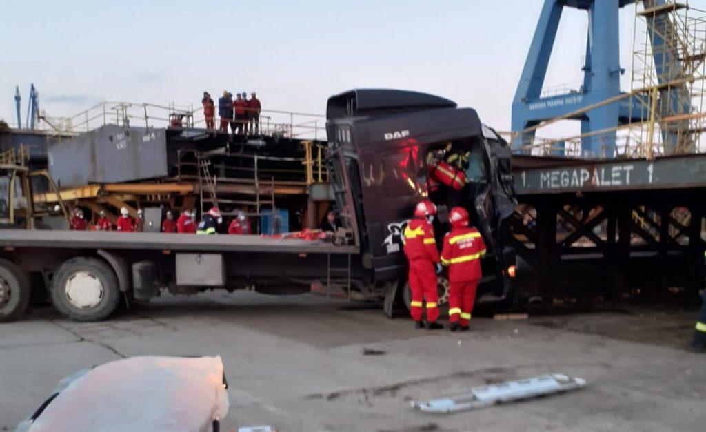 Grav accident de muncă pe platforma Vard