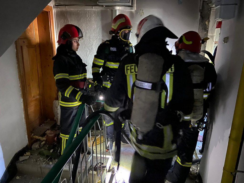 Explozie într-un apartament din Tulcea