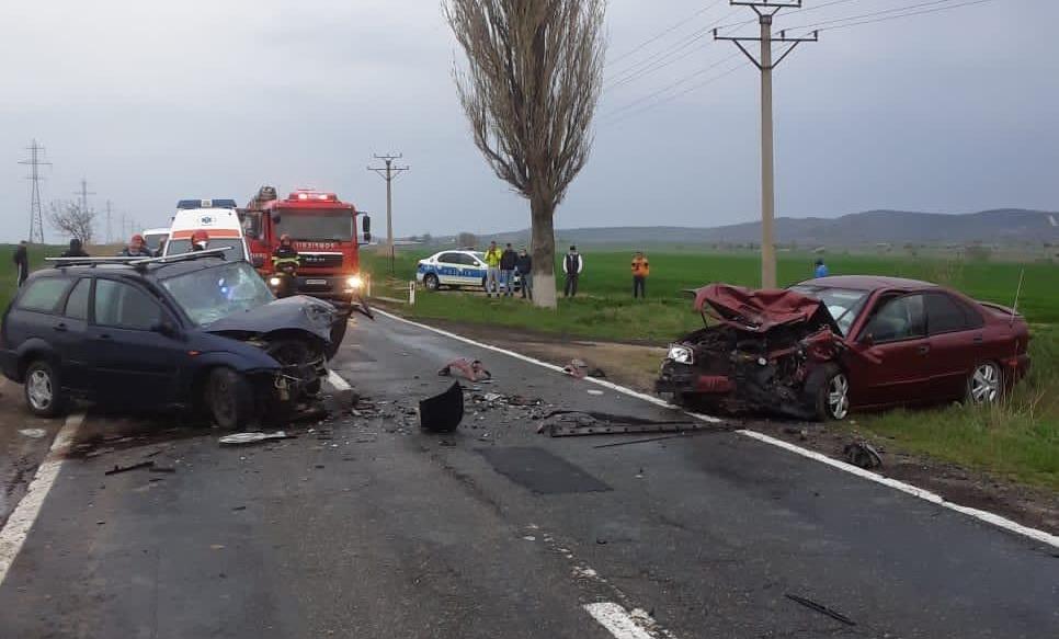 Grav accident lângă Măcin. O victimă e în comă, alta e rănită grav
