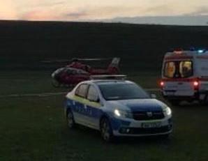 VIDEO - Minor căzut în gol în cariera Malcoci. Intervine elicopterul SMURD