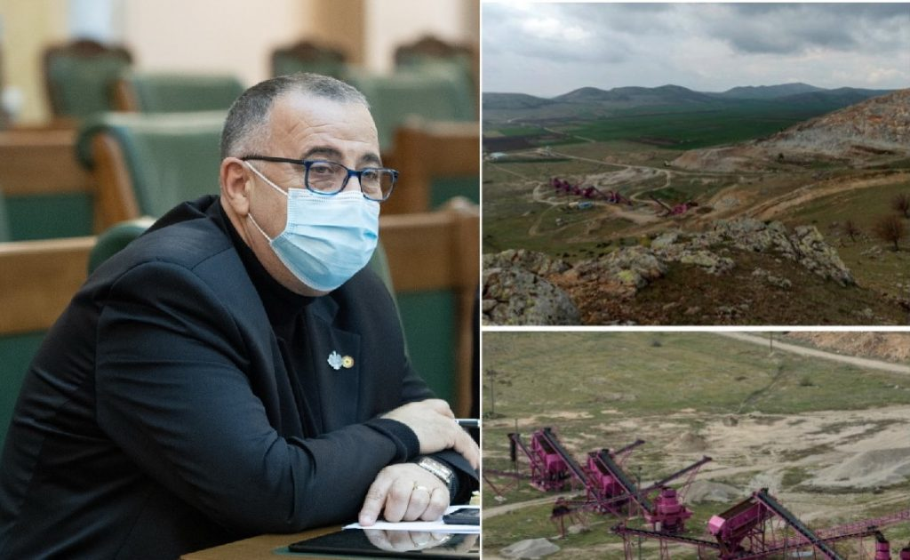 Senatorul Cioromelea (AUR) ia atitudine în problema unei exploatări de granit din zone protejate