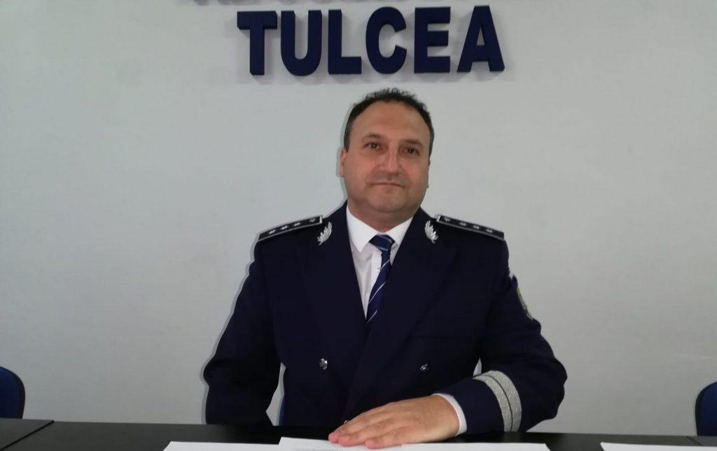 Cms. şef Grădinaru revine la conducerea IPJ Tulcea