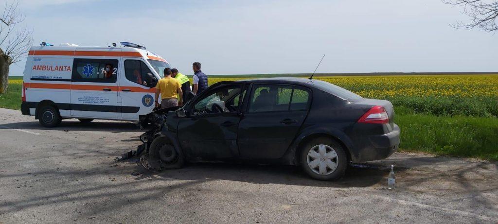 Accident aproape de Casimcea. O femeie a ajuns la spital