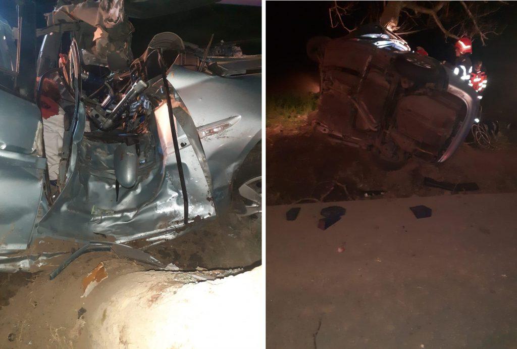 O tânără de 19 ani a murit într-o tragedie rutieră în judeţul Tulcea. Alte patru persoane au fost rănite, dintre care două, grav!