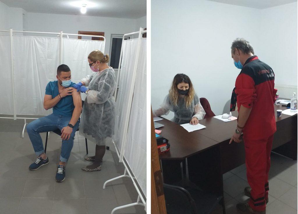 Peste 200 de angajaţi ai Alum SA au fost vaccinaţi în incinta societăţii