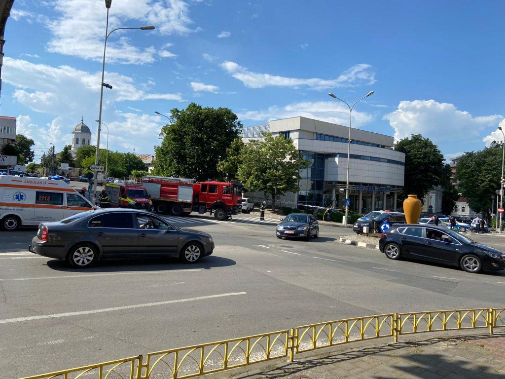 Alertă de ameninţare cu bombă la teatrul Jean Bart din Tulcea
