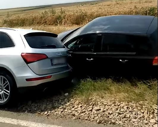 Accident între Tulcea şi Cataloi. O persoană are nevoie de îngrijiri. Se circulă pe o bandă