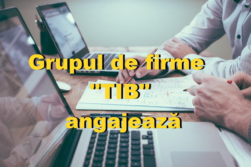 Grupul de firme TIB angajează