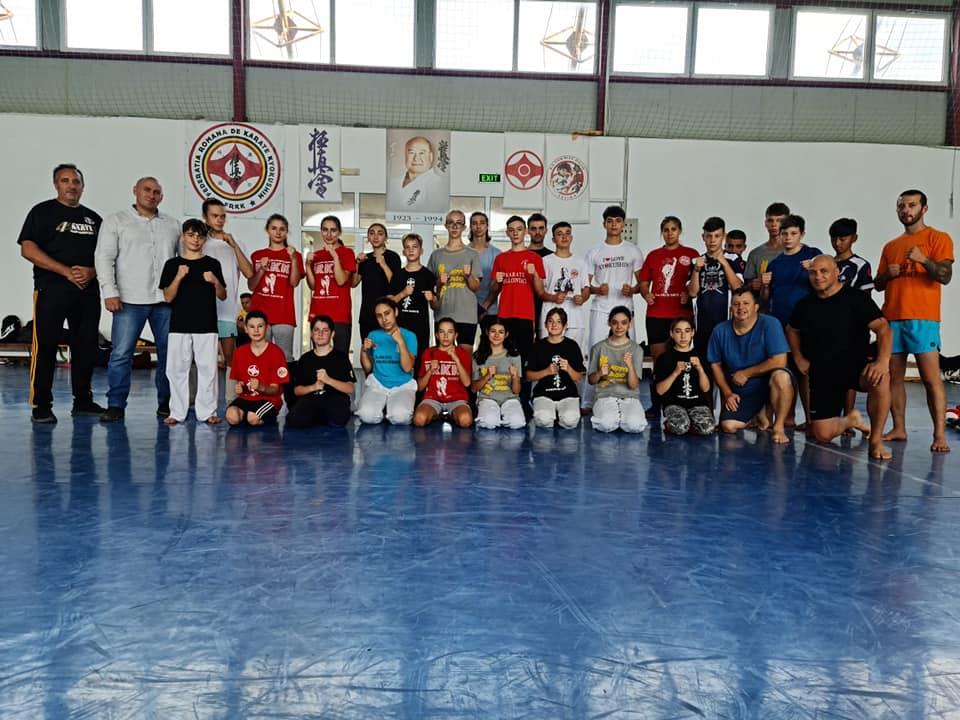 Nippon Budo Sport și-a antrenat luptătorii la Sulina