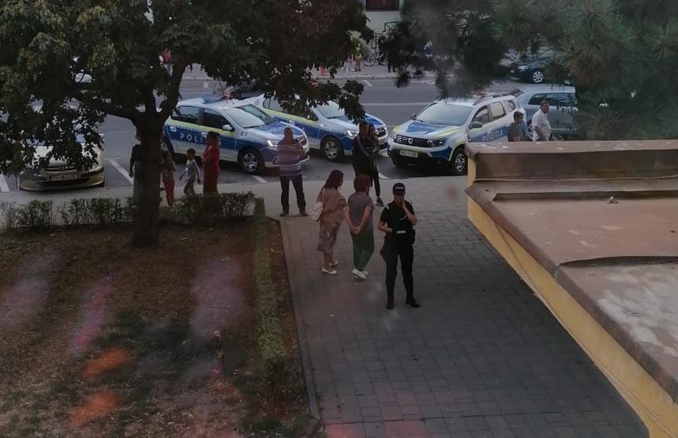 Atac sângeros în centrul municipiului. Două femei înjunghiate au ajuns la spital