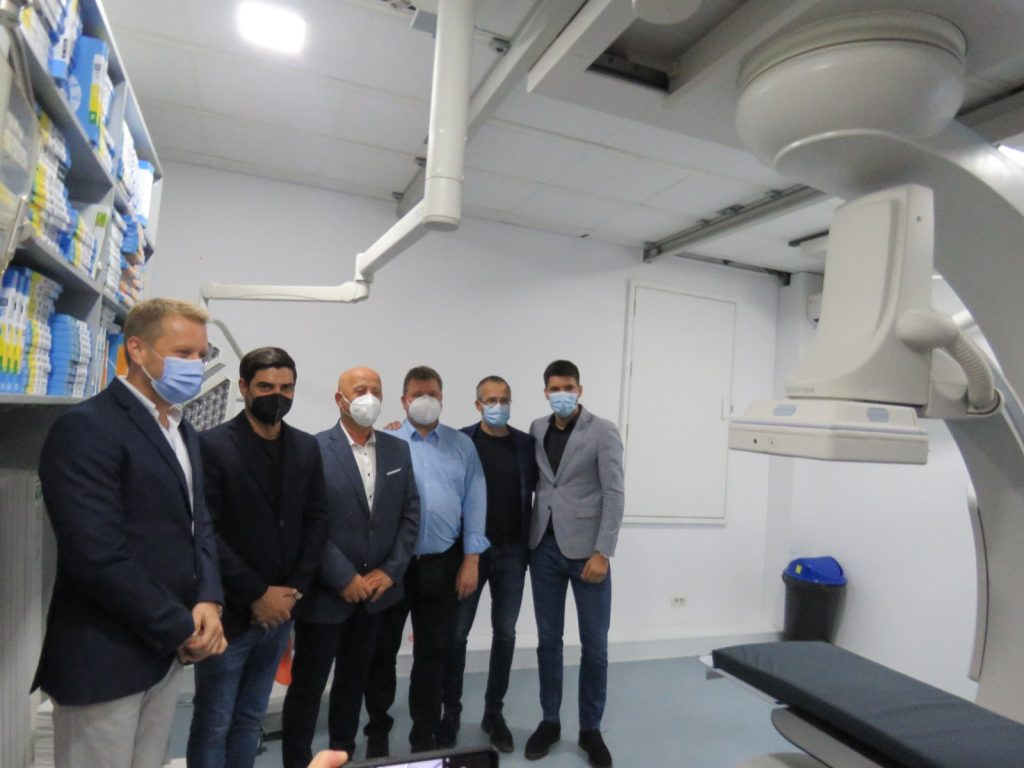 Centru de cardiologie ARES la Spitalul Județean de Urgență Tulcea